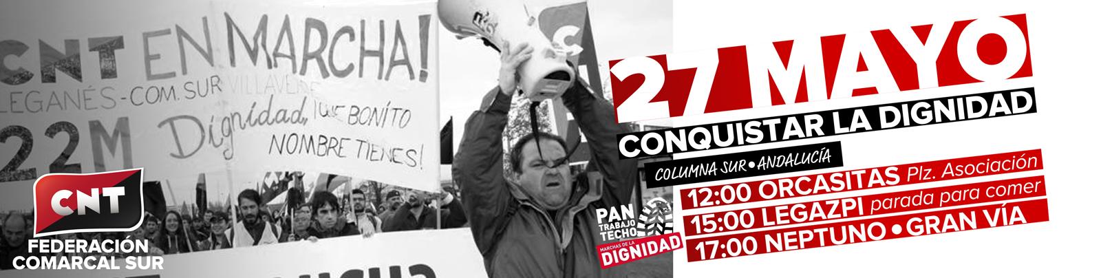 27M: Las Marchas de la Dignidad vuelven a Madrid