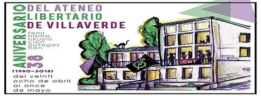 38 aniversario del Ateneo Libertario de Villaverde