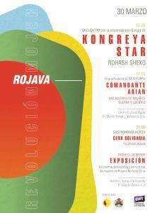 EXPOSICIÓN Internacional - Proyección de 'COMANDANTE ARIAN' - Encuentro con KONGREYA STAR -