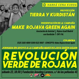 Revolucion verde Rojava