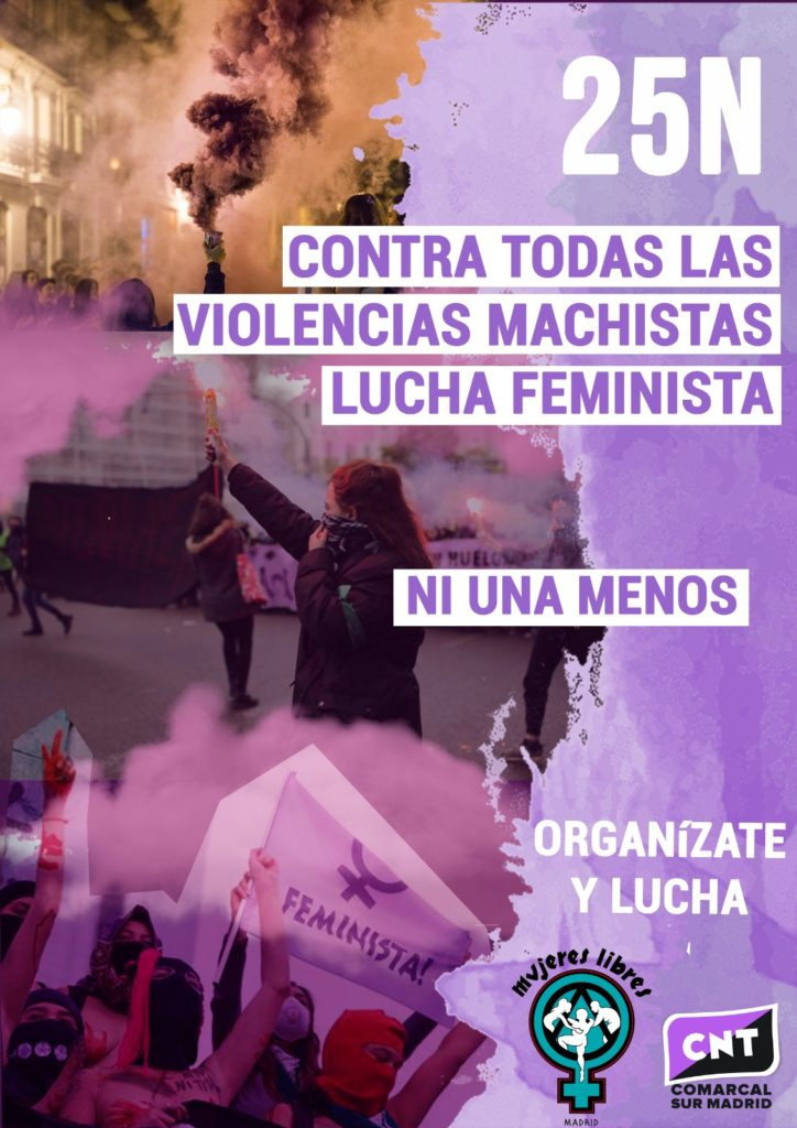 25N 2020 anarcofeministas